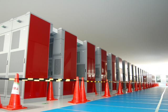 Superpočítač Kay Computer z Japonska