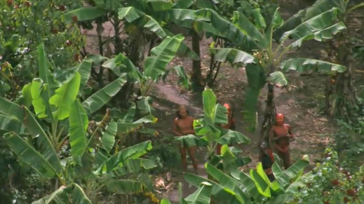 Dosud nekontaktovaný kmen brazilských domorodců