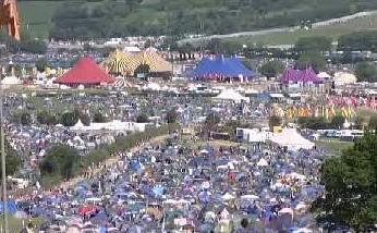 Glastonbury - hudební festival