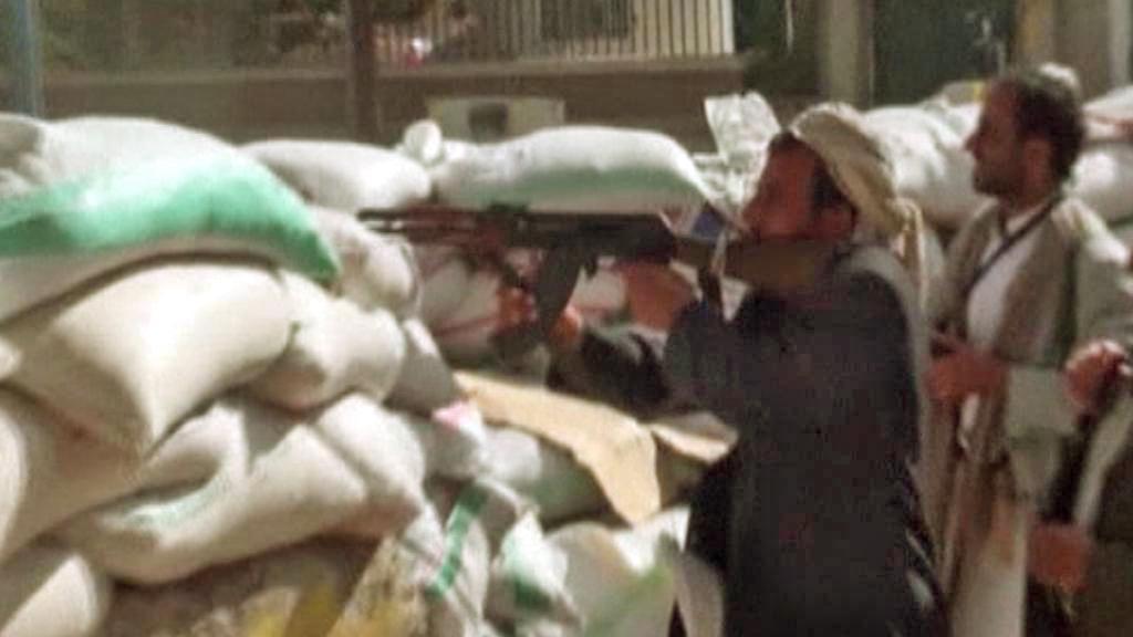Boje v jemenském Saná