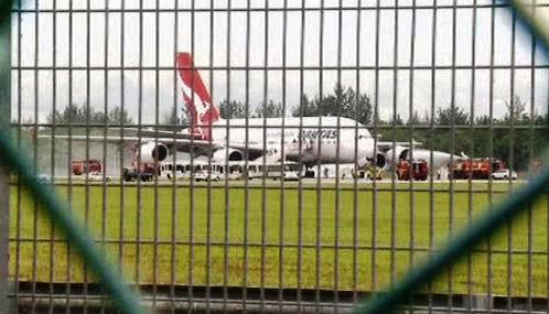 Letadlo společnosti Qantas