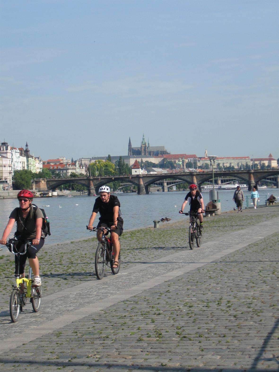 Pražané - cyklisti