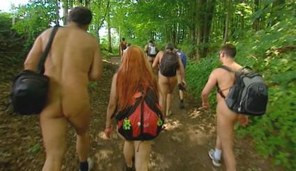Pochod českých nudistů