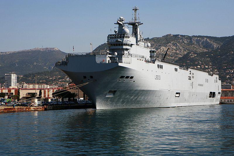Francouzská útočná loď Mistral