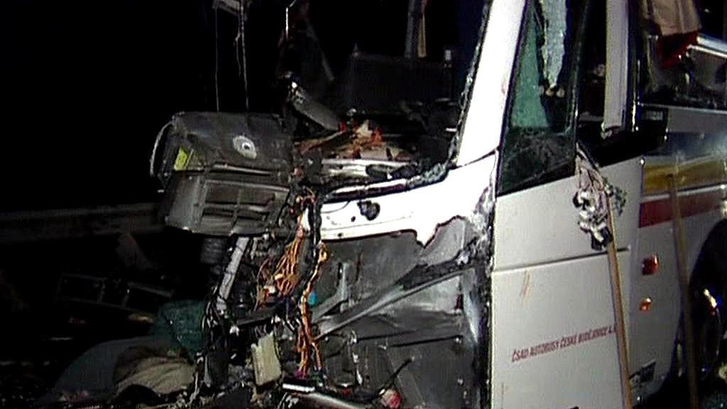 Nehoda českého autobusu v Maďarsku