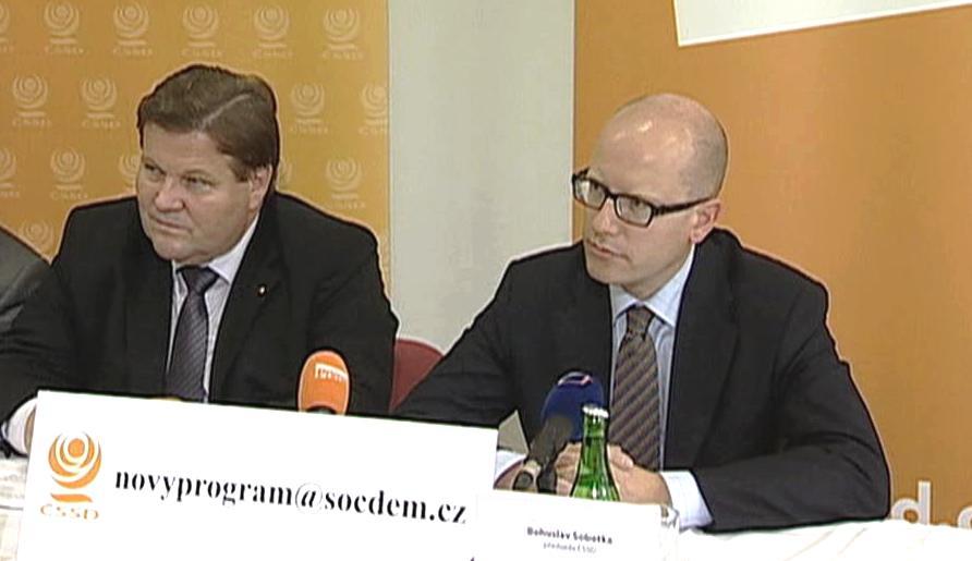 ČSSD chce o reformách diskutovat s občany