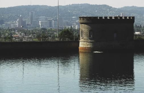 Vodní nádrž v Portlandu