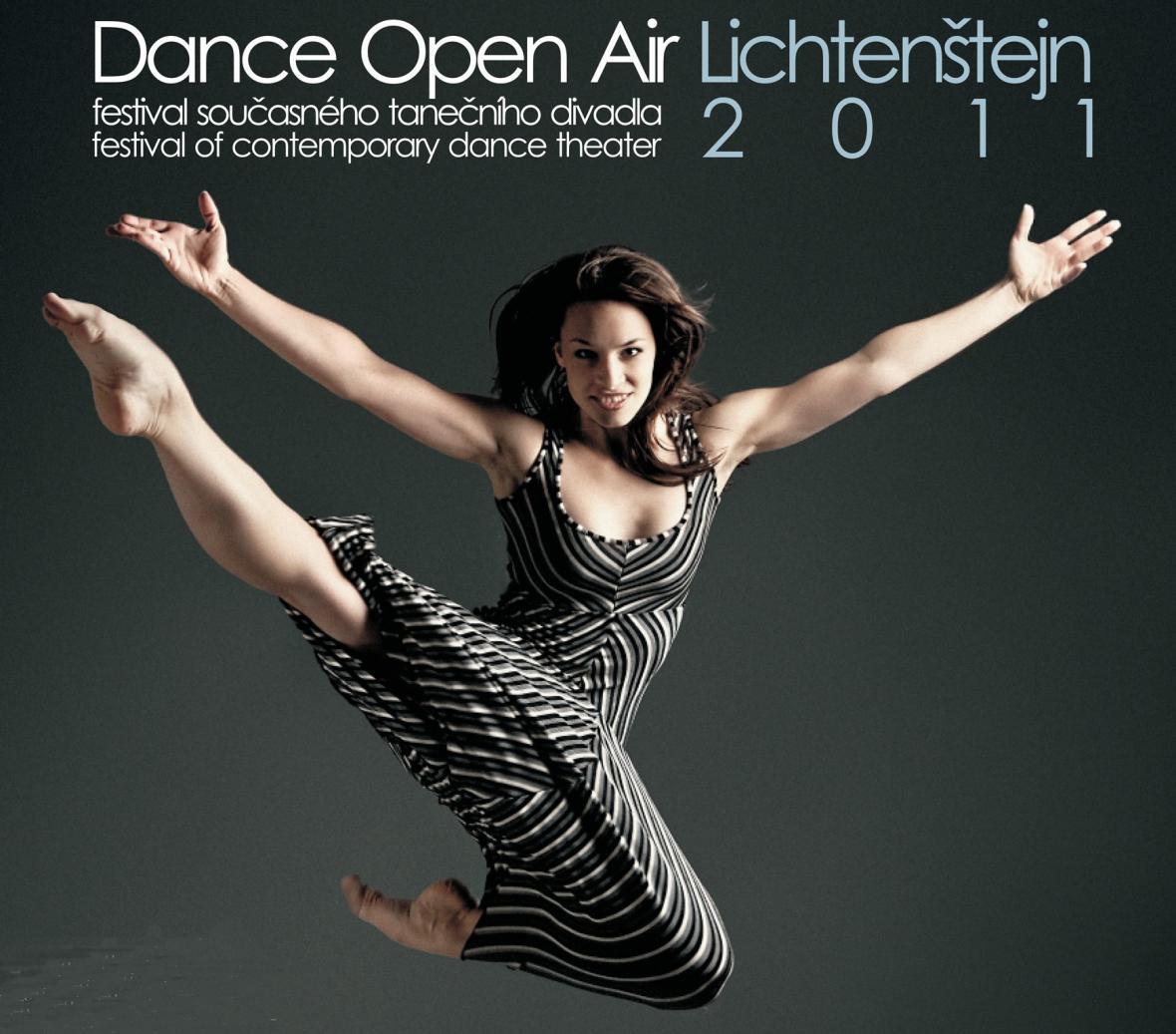 Dance Open Air / detail plakátu