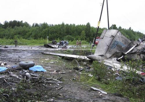 Nehoda letadla společnosti RusAir