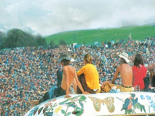 Woodstock (detail obálky knihy)