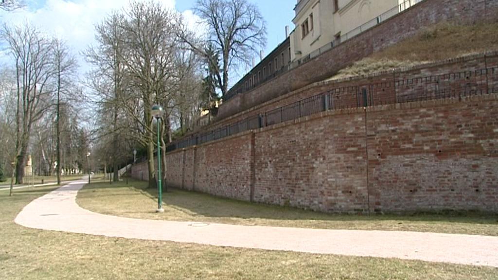 Část hradeckého opevnění