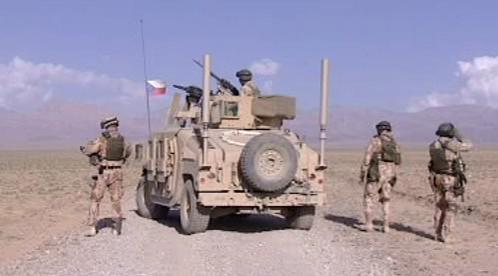 Češi v Afghánistánu