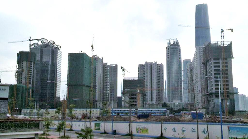 Nové stavby v Kuang-čou