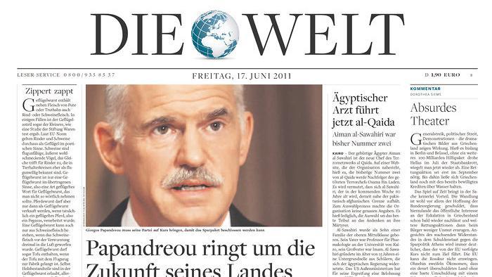 Die Welt ze 17. června 2011