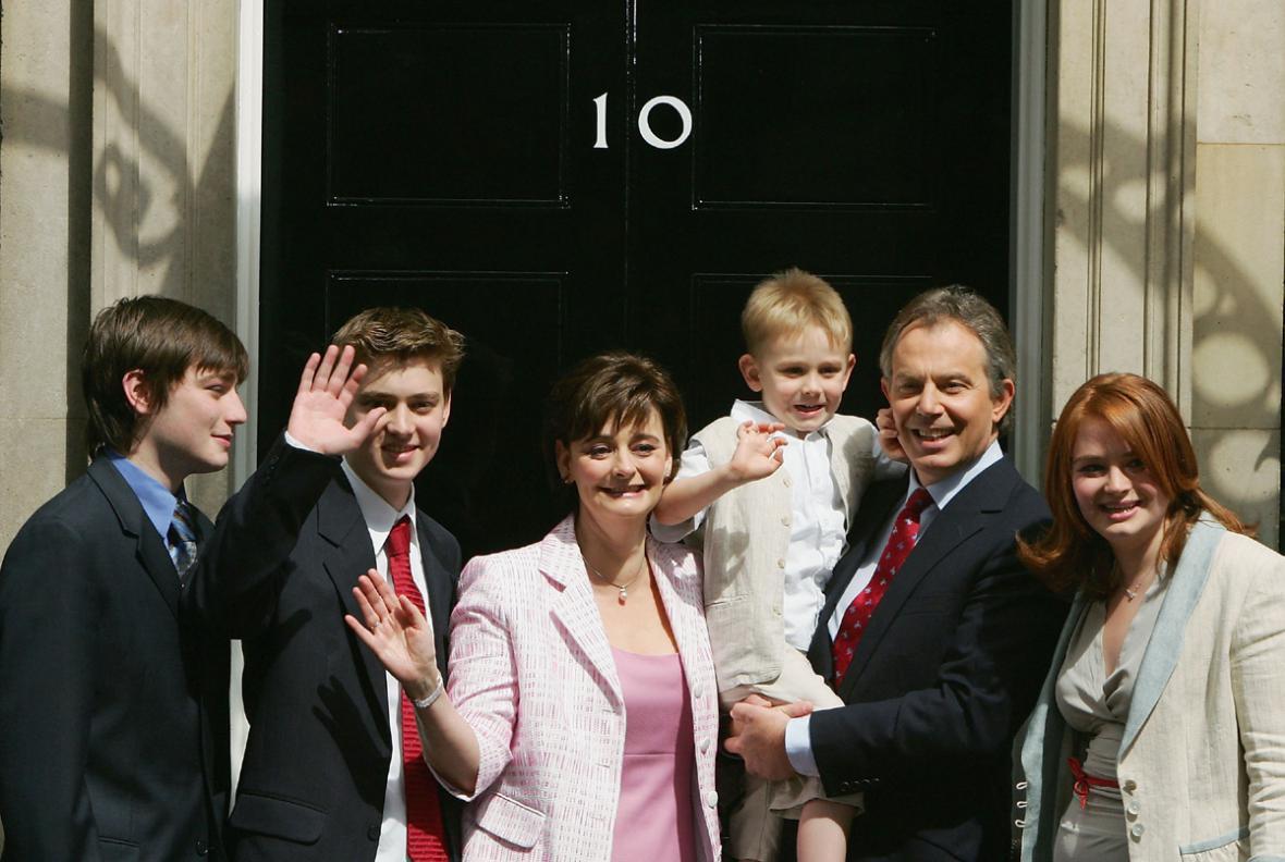Rodiny Tonyho Blaira