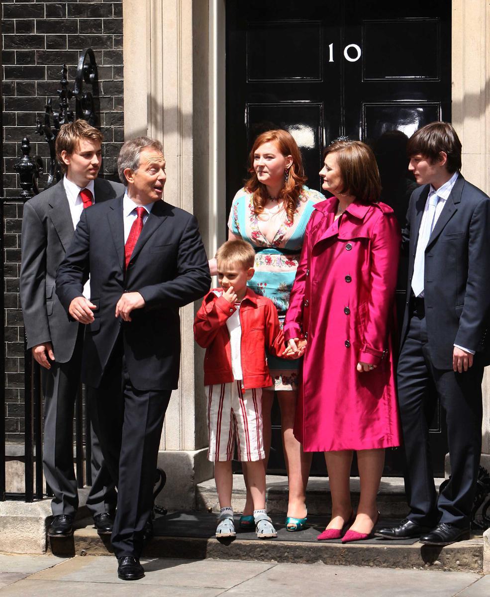 Rodina Tonyho Blaira