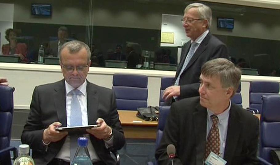 Kalousek na jednání ministrů financí EU