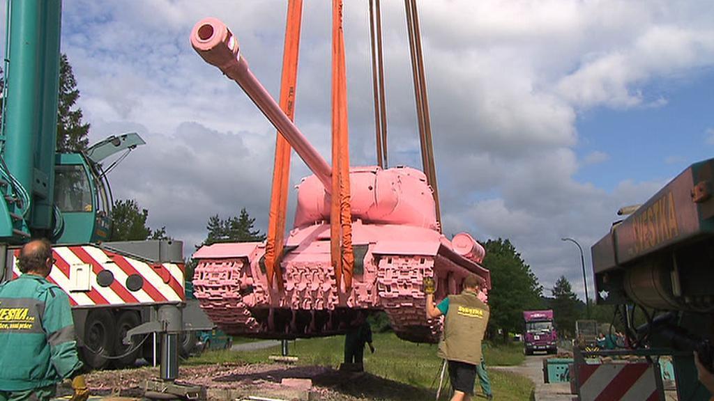 Převoz tanku