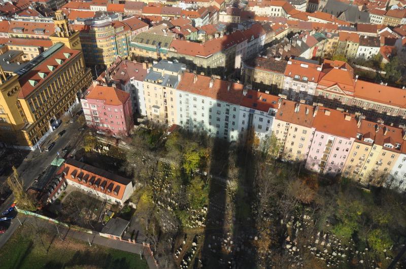 Pohled z žižkovské věže