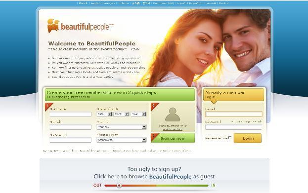 Portál beautifulpeople.com