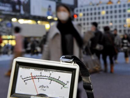 Zvýšená radiace v Japonsku