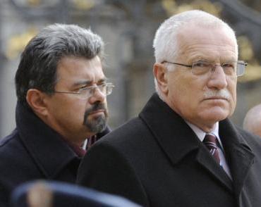Václav Klaus a Jiří Weigl