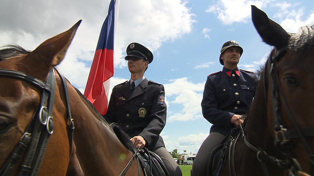 Z oslav založení Policie ČR
