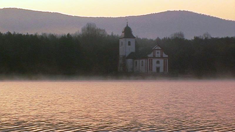 Kostel sv. Víta je poslední dochovaná památka na Zahrádku