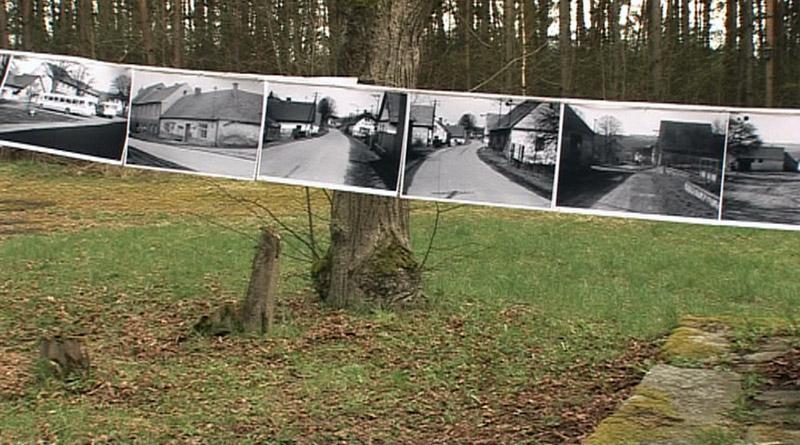 Výstava fotografií z dob demolice obce Zahrádka