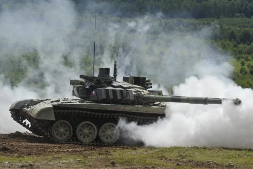Bahna 2011 - tank T-72