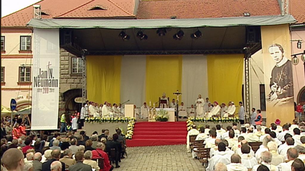 Bohuslužba v Prachaticích