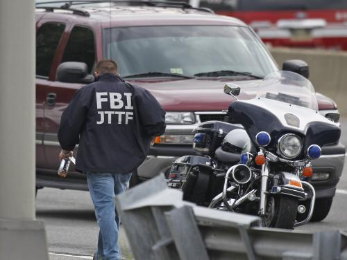 FBI prohledává okolí Pentagonu