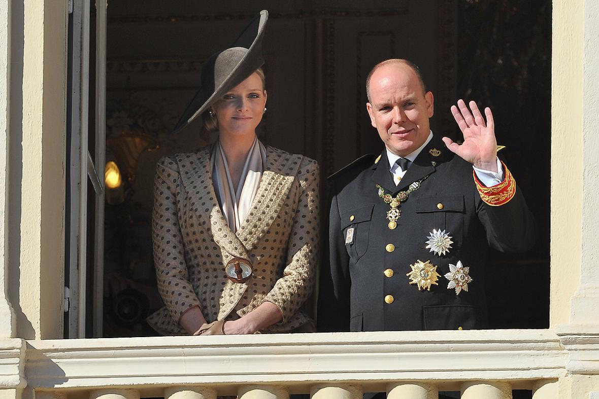 Charlene Wittstocková a princ Albert II.