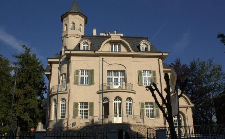 Becherova vila po rekonstrukci