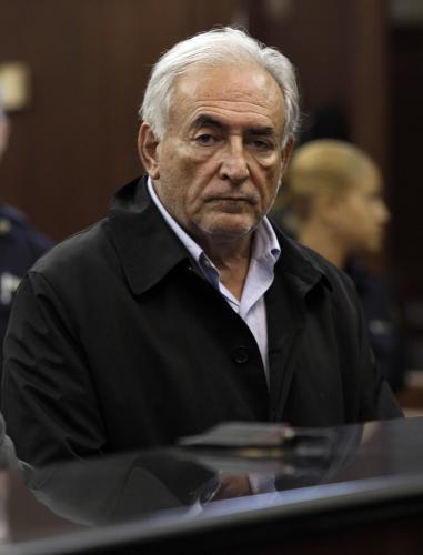 Dominique Strauss-Kahn před soudem v New Yorku