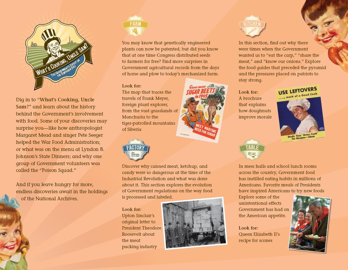 Výstava o historii amerického stravování