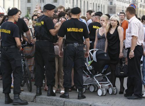 Tichá demonstrace v Bělorusku