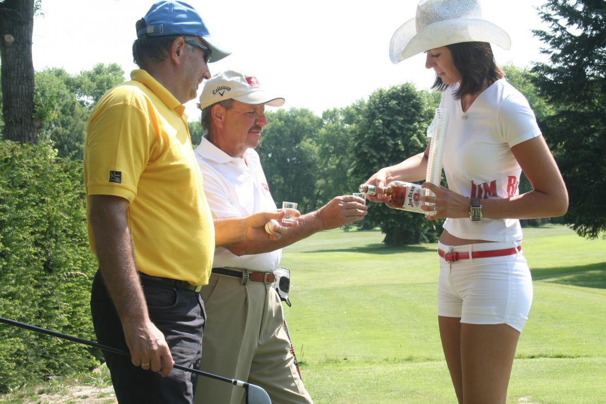 Odboráři na golfu