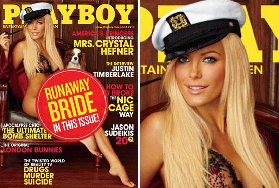 Nevěsta na útěku na obálce Playboye