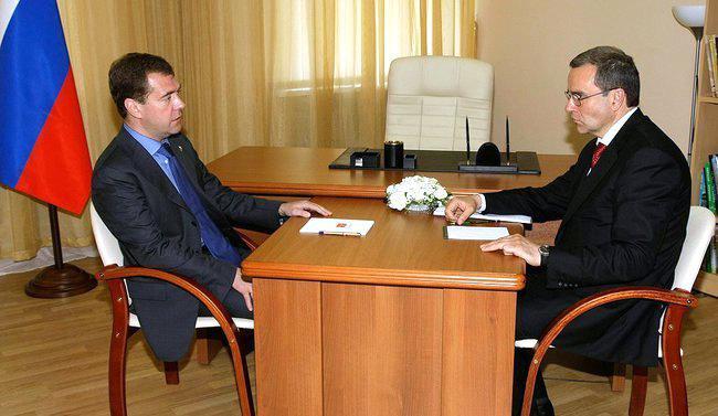 Dmitrij Medvěděv a Dmitrij Zelenin