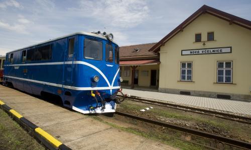 Jediný vlak, který jezdil na jihu Čech