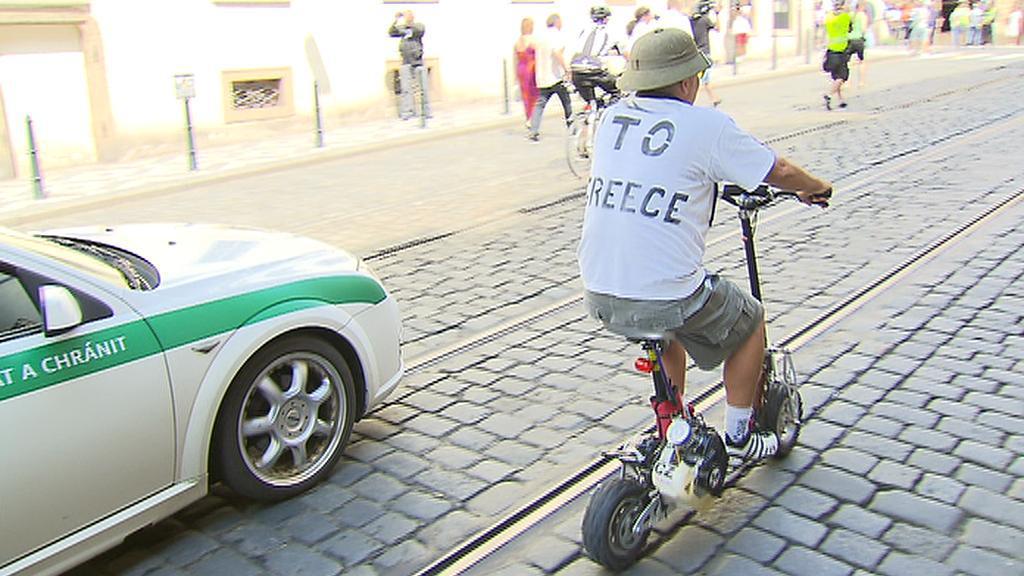 K cestování lidé využili svérázné dopravní prostředky