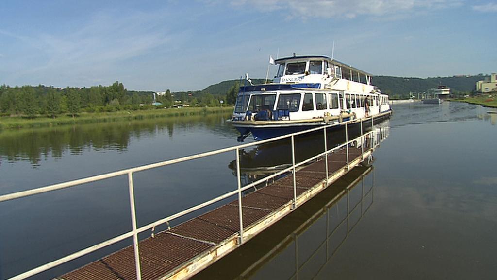 Plavba lodí na Vltavě