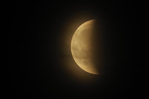 Zatmění Měsíce - Rokycany