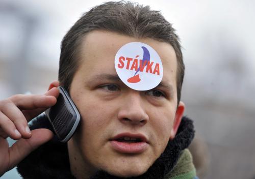 Stávka v Česku
