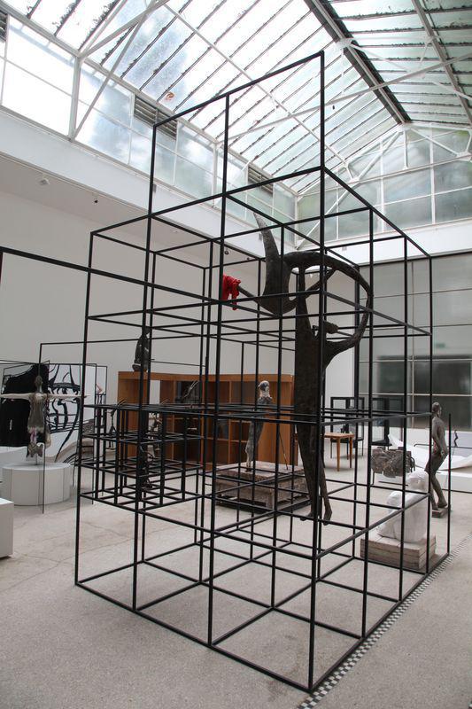 Dominik Lang / Instalace Spící město