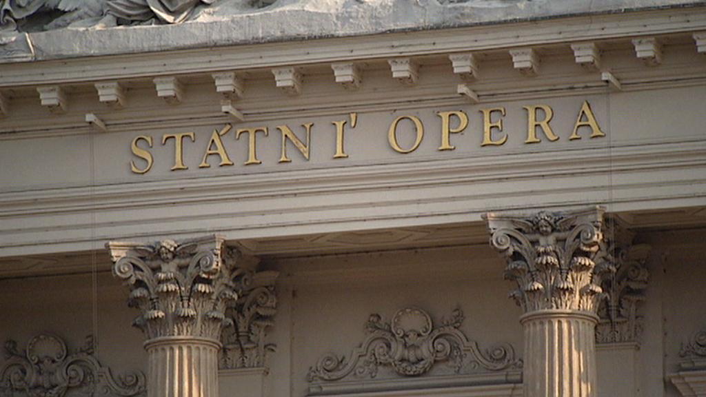 Budova Státní opery Praha