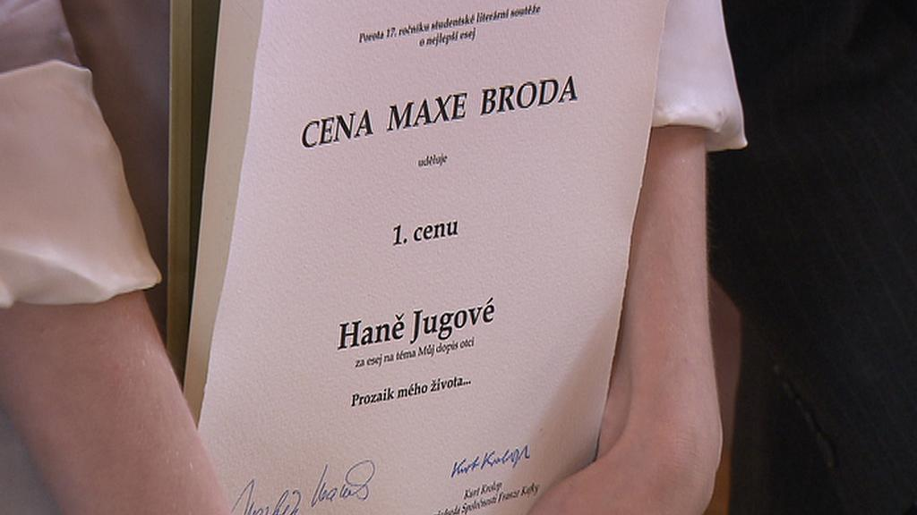 Cenu Maxe Broda získala Hana Jugová