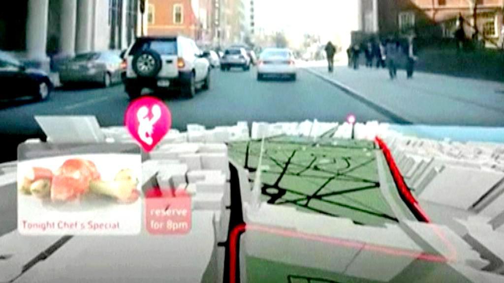 3D navigace