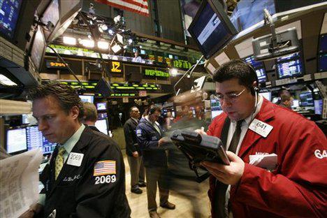 Makléři na Wall Street